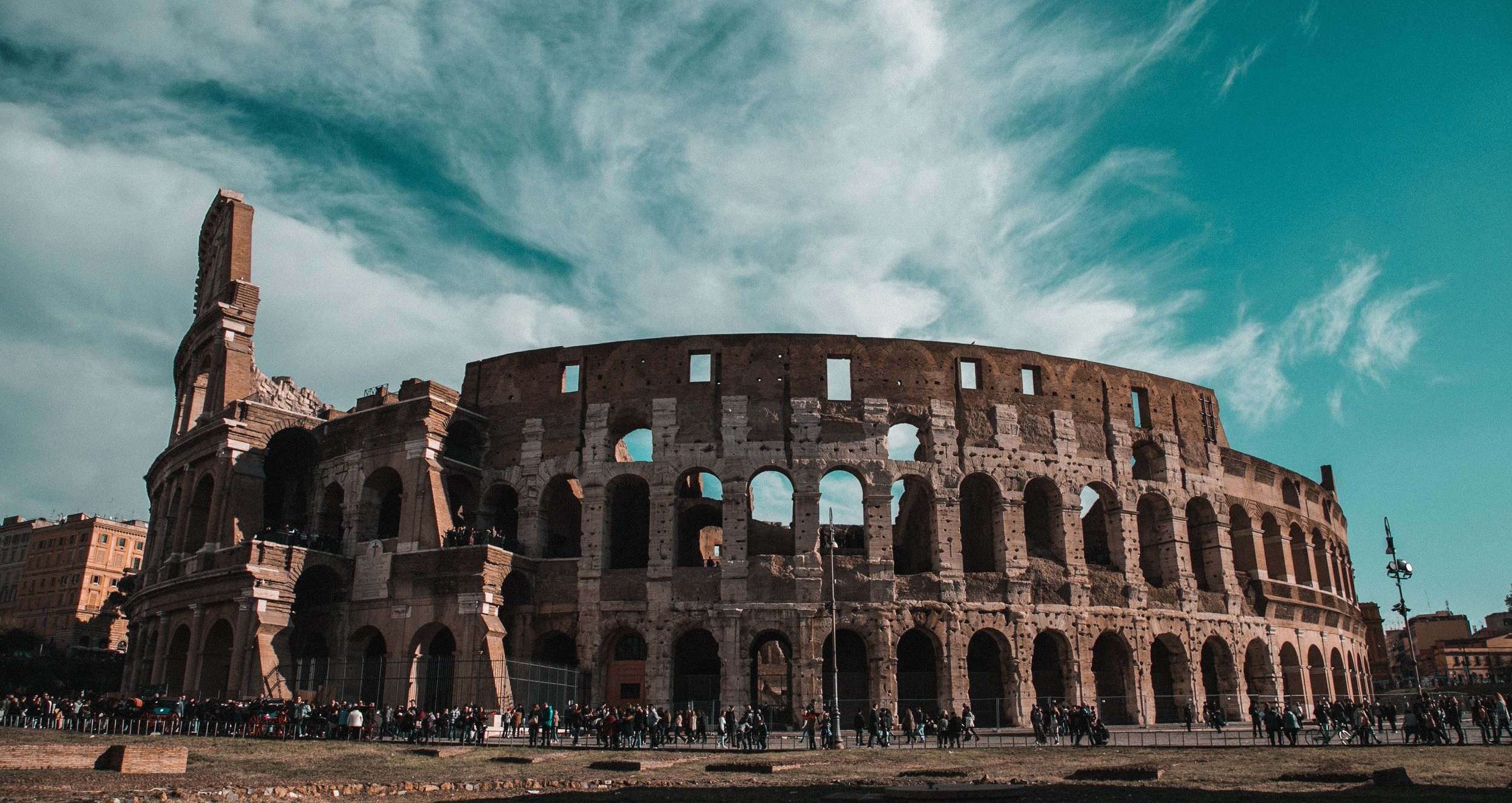 The iconic Roman Colosseum