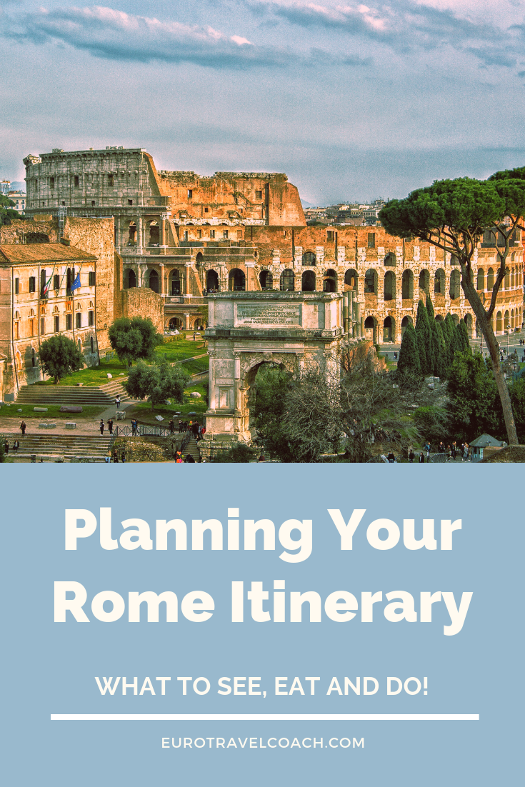 Planning your Rome itinerary