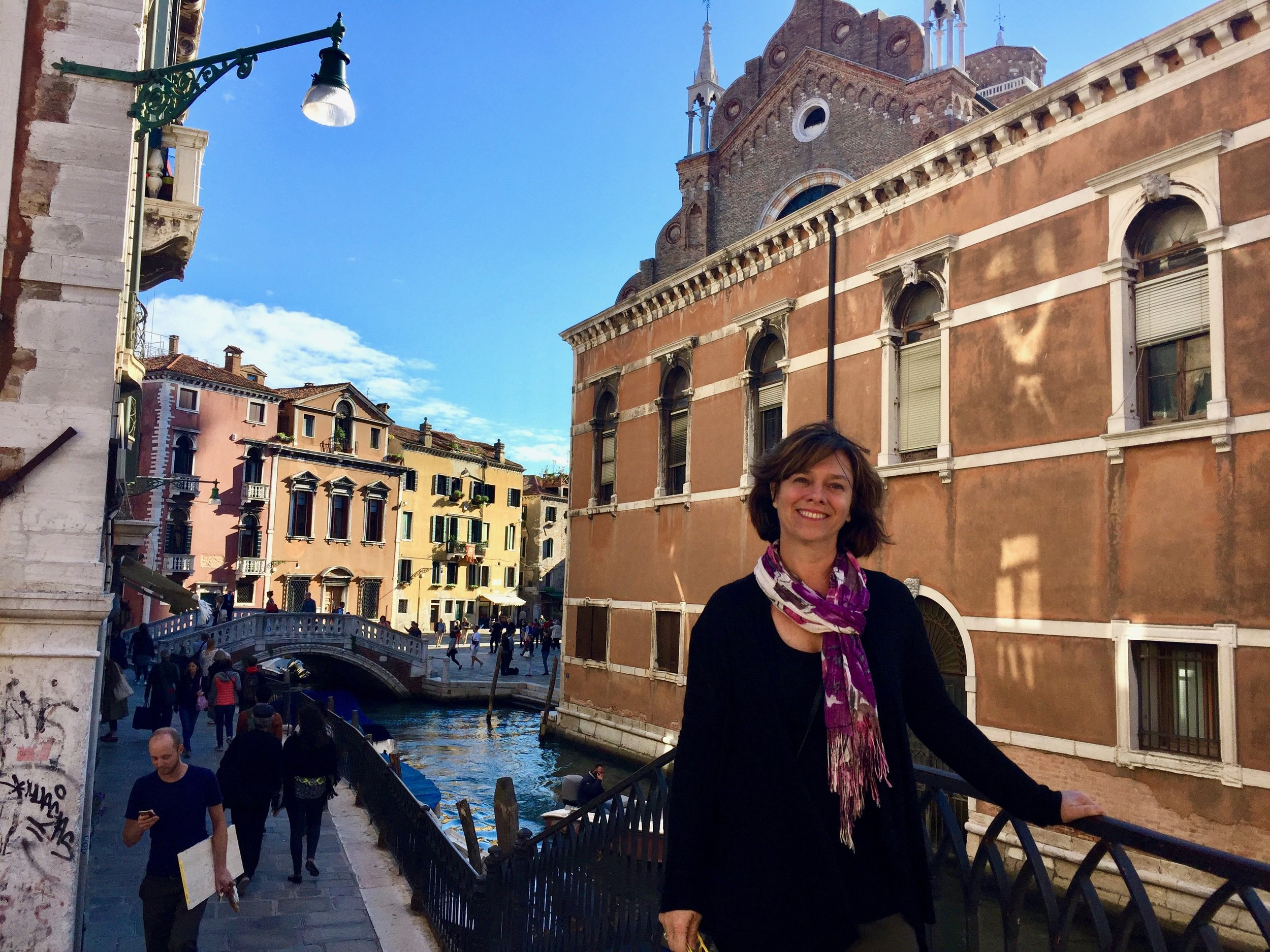 Along the canals in the Cannaregio sestiere