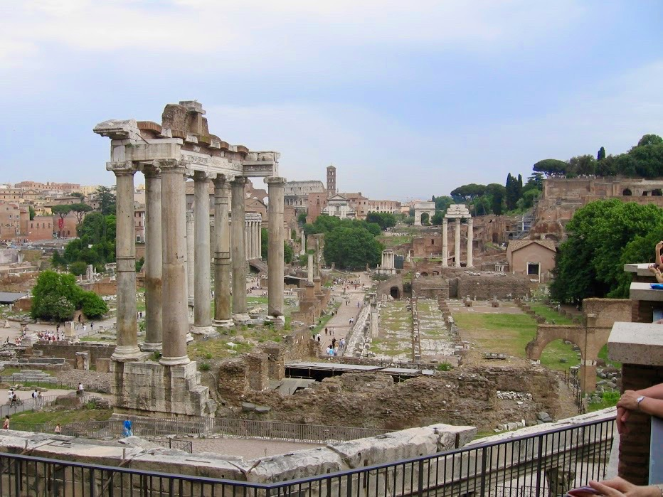The Roman Forum dates back over 2000 years