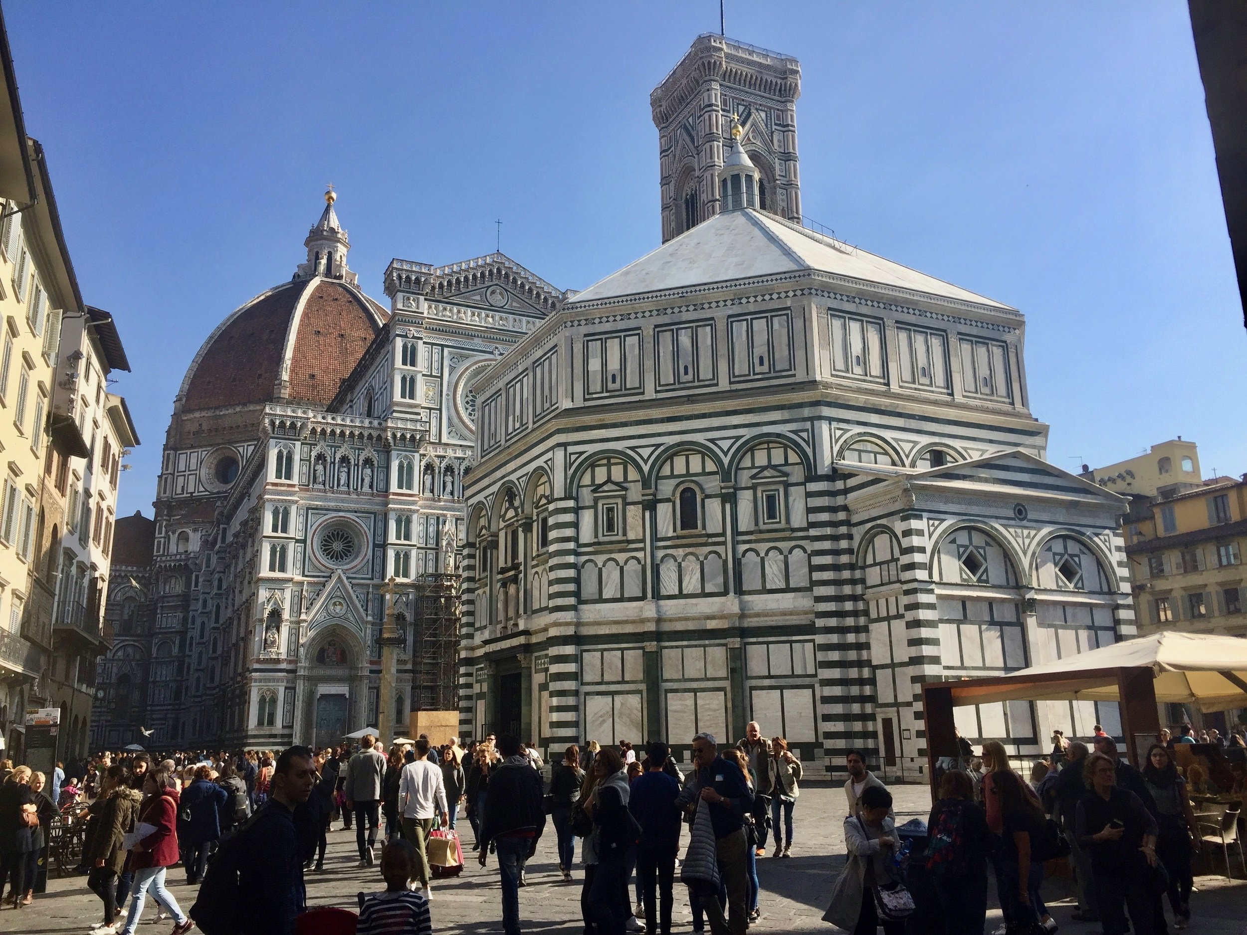 The architecture in Florence is spellbinding