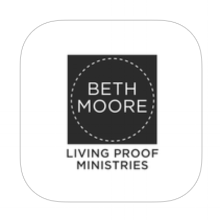 Living Proof Ministries, founded by Beth Moore (1994) is dedicated to encourage people to come to know and love Jesus Christ through the study of scripture.