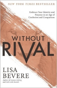 There is a reason we look at others as rivals and limit ourselves to comparison and competition. We have an enemy assaulting our mind, will, and emotions in the hope that we'll turn on ourselves and each other. It's a cycle that isolates us from intimate connections, creates confusion about our identity, and limits our purpose.    In   Without Rival  , bestselling author Lisa Bevere shares how a revelation of God's love breaks these limits. You'll learn how to stop seeing others as rivals and make the deep connections with your Creator you long for--connections that hold the promise of true identity and intimacy. With biblically sound teaching filled with prophetic insight for our day, Lisa uses humor and passion to challenge you to    · Flip rivalry so it brings out the best in you   · Stop hiding from conversations you need to be a part of   · Answer the argument that says women are unfit, easily deceived, and gullible   · Dismantle gender rivalry and work with the men in your life    It's time to step forward to live a life without rival.