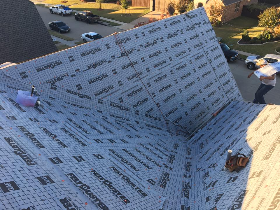 The Roofing Process