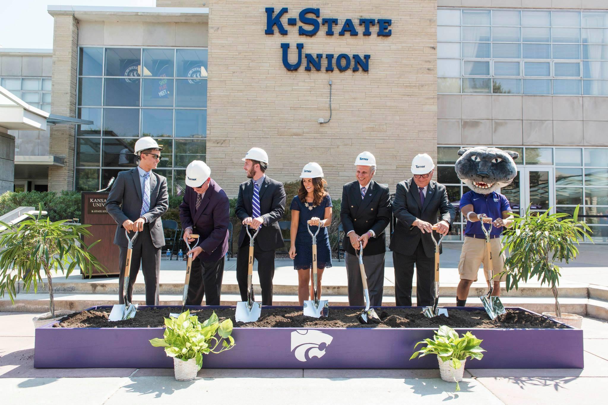K-State Student Union Renovation Breaks Ground