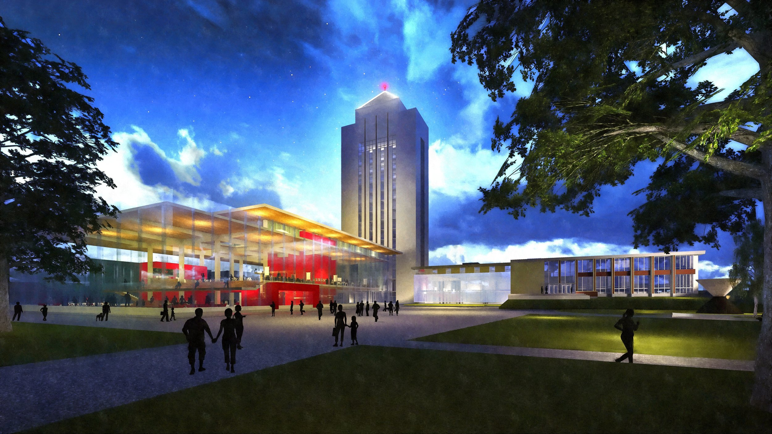 Northern Illinois University Holmes Student Center Master Plan