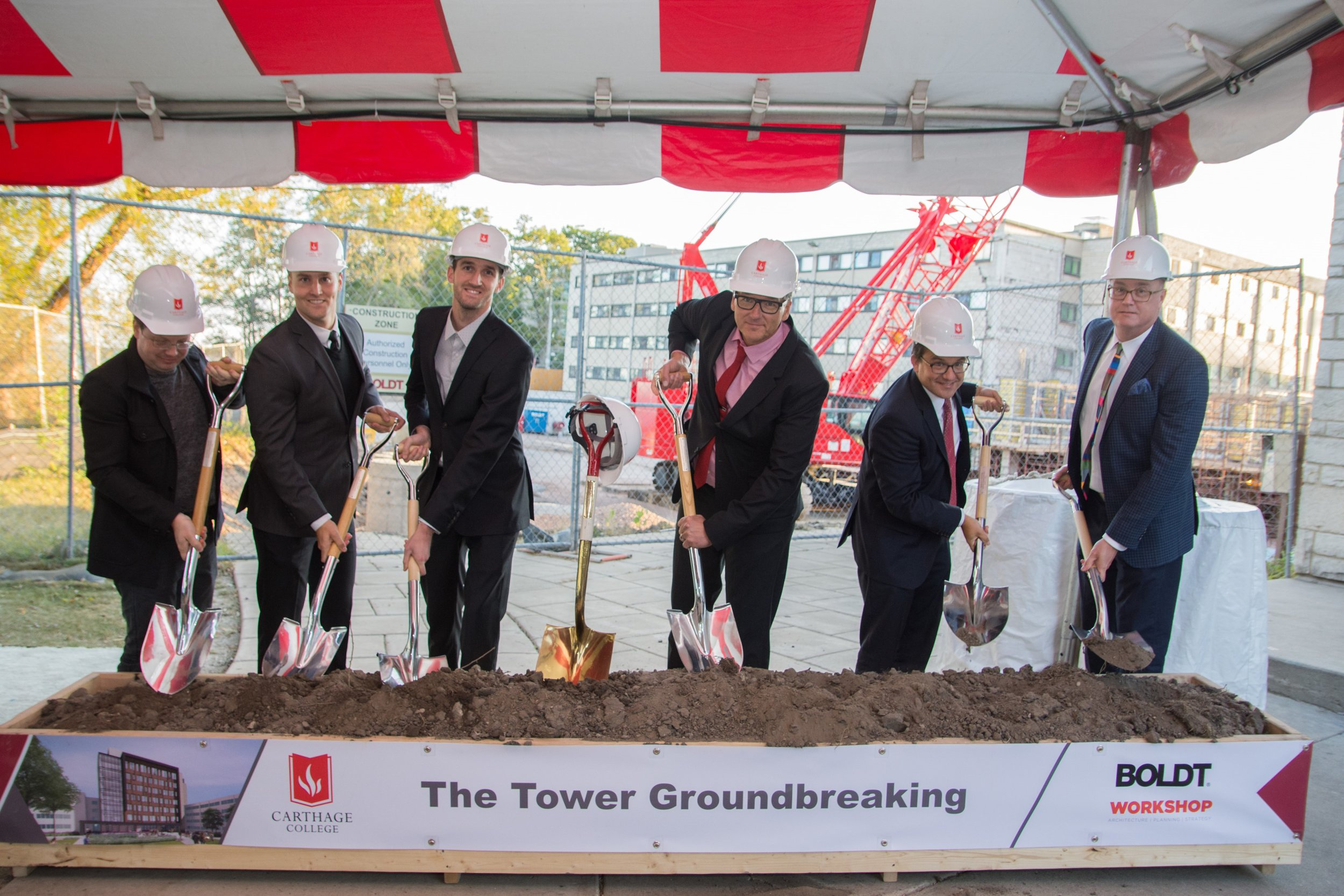 Carthage College Breaks Ground on New Student Residence