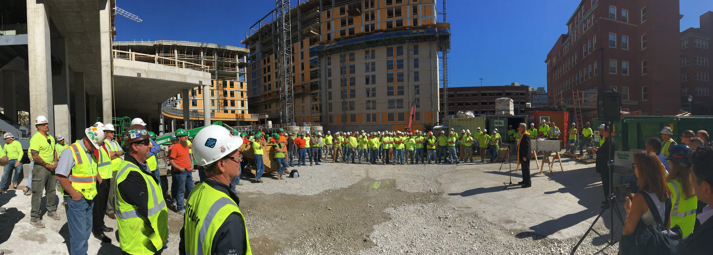 Topping Off Marquette University's The Commons