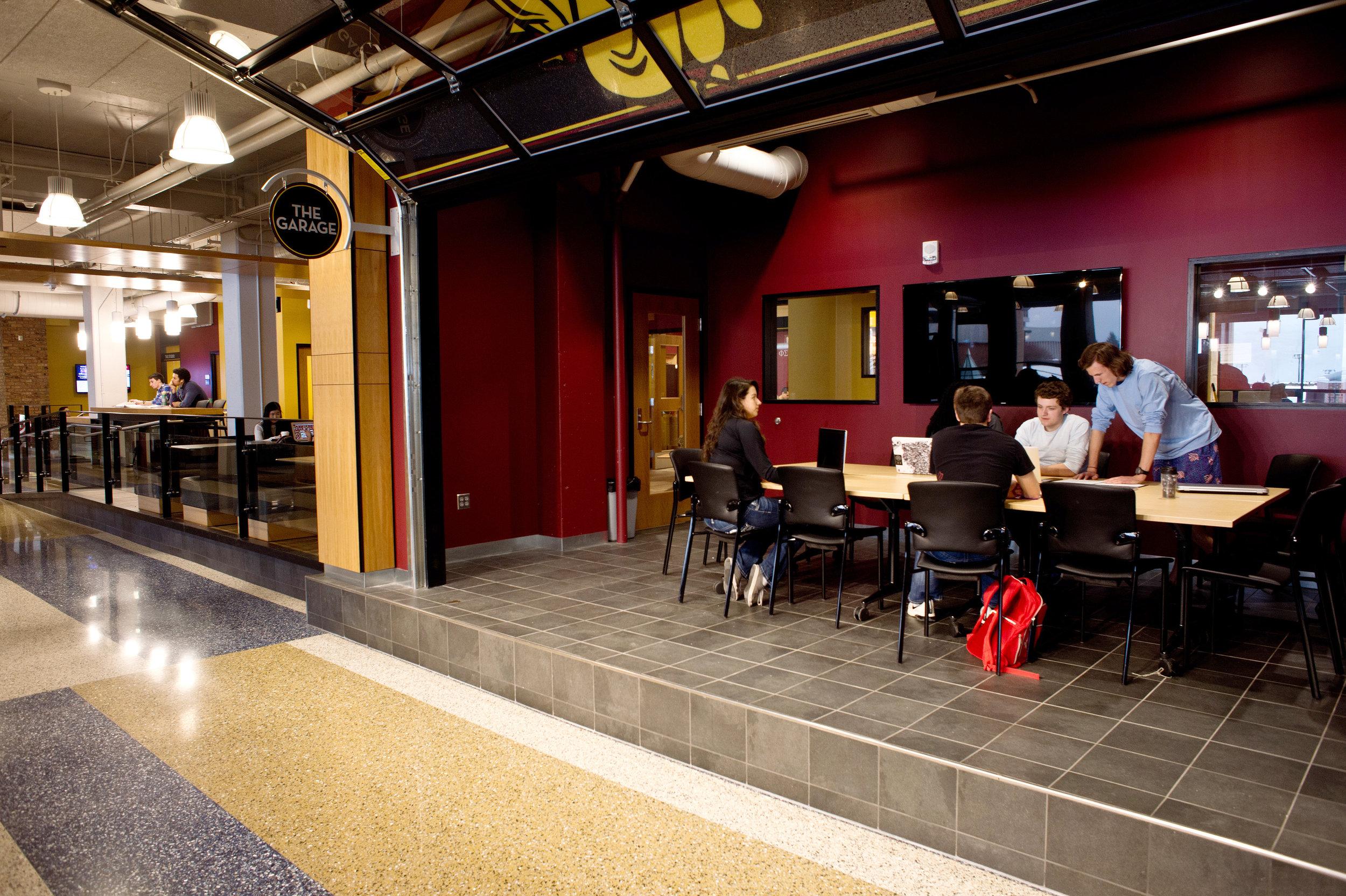 Kirby Student Center Wins ACUI Facility Design Award