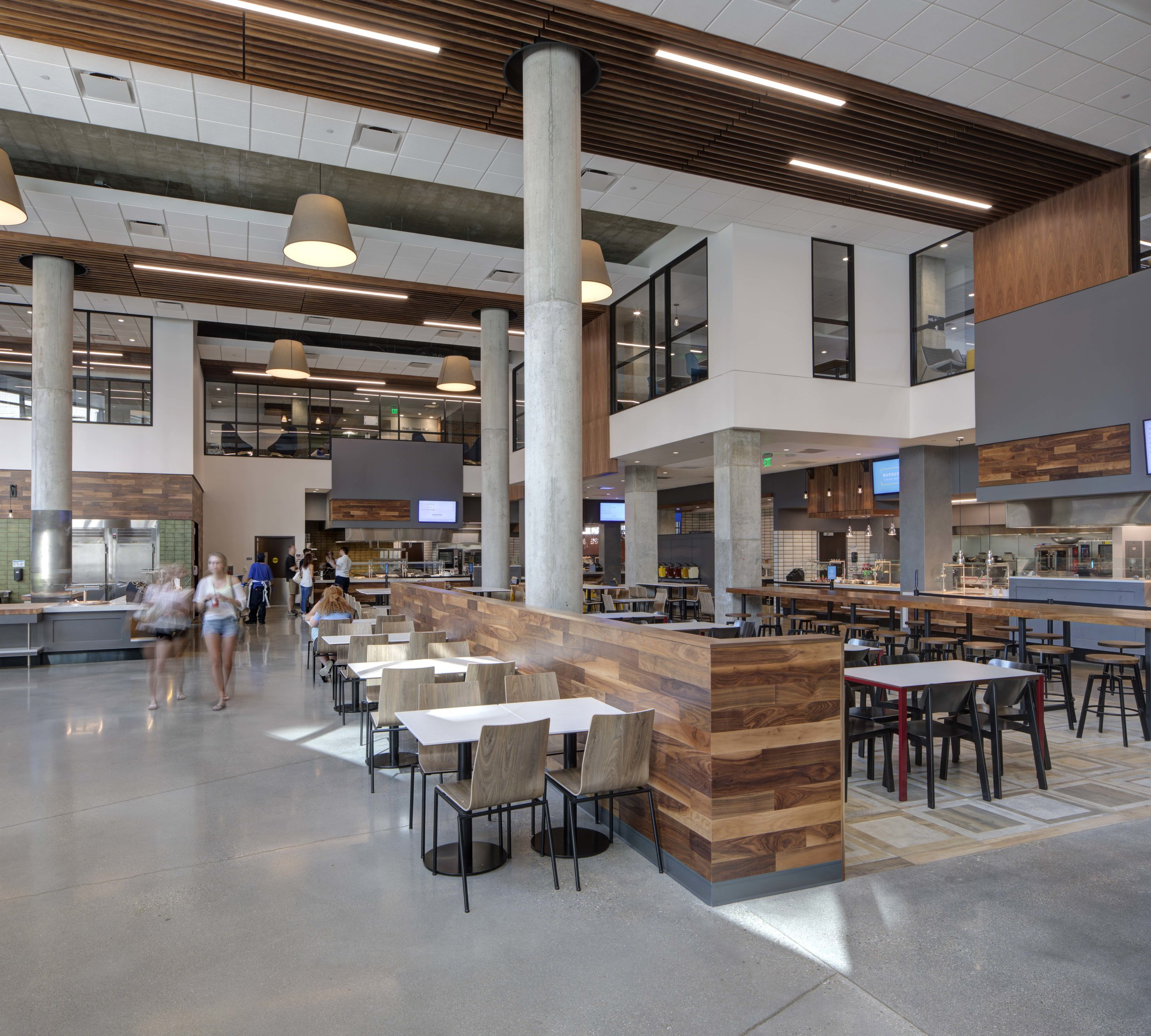 Marquette University Opens The Commons