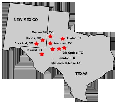 Locations — TerraFlow Services, LLC