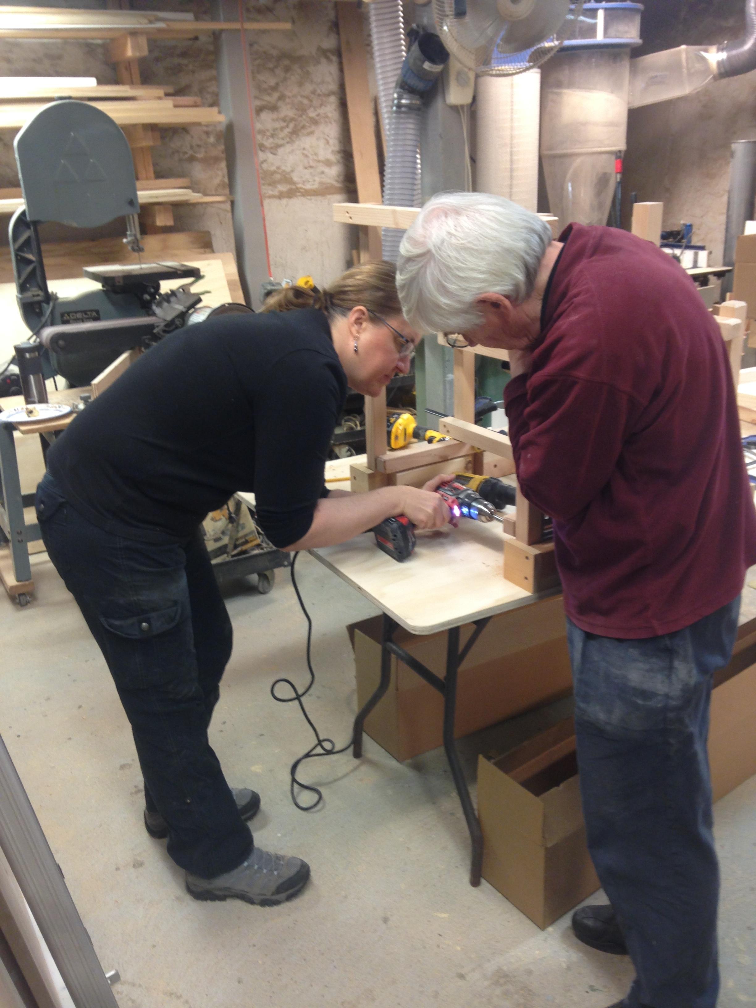 Frank Perrone Wave Hill Workshop