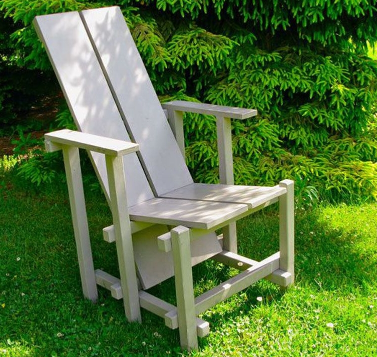 Painted Wave Hill Chair