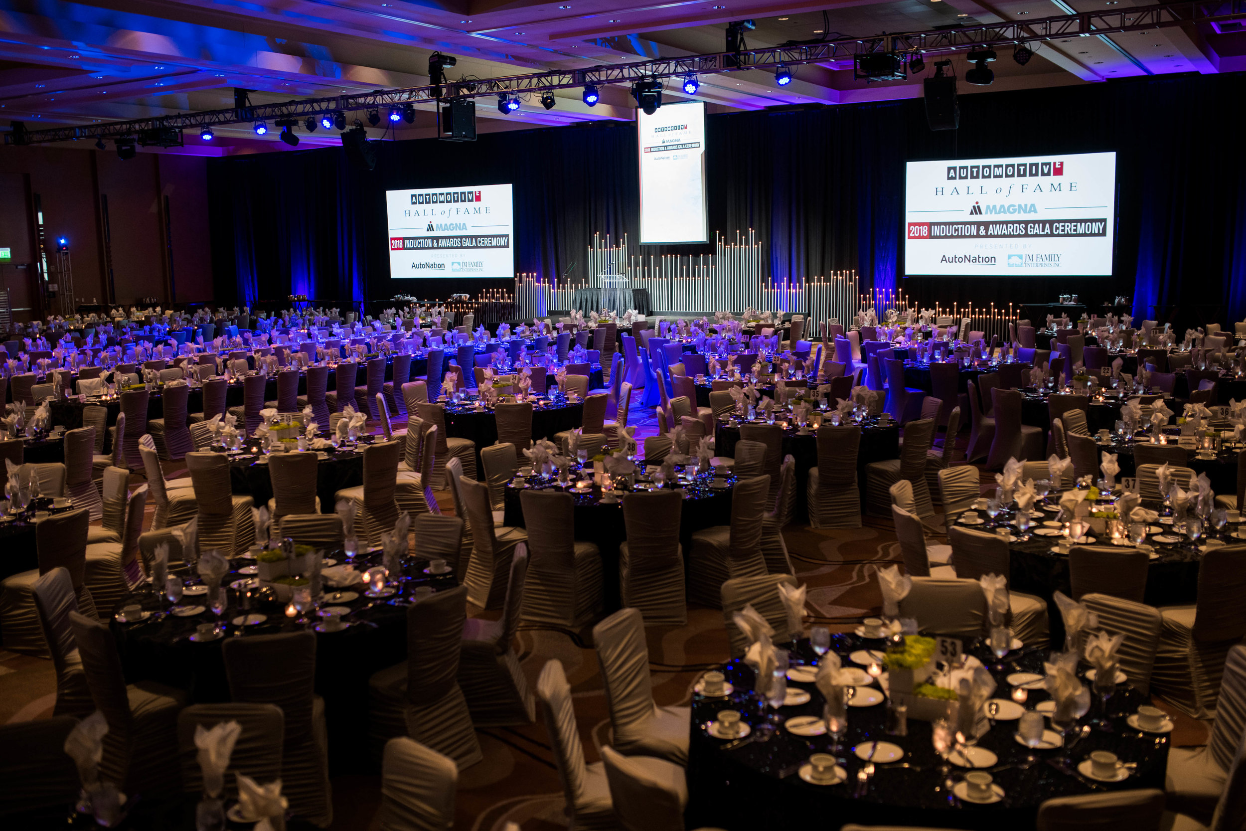 Automotive hall of fame induction ceremony