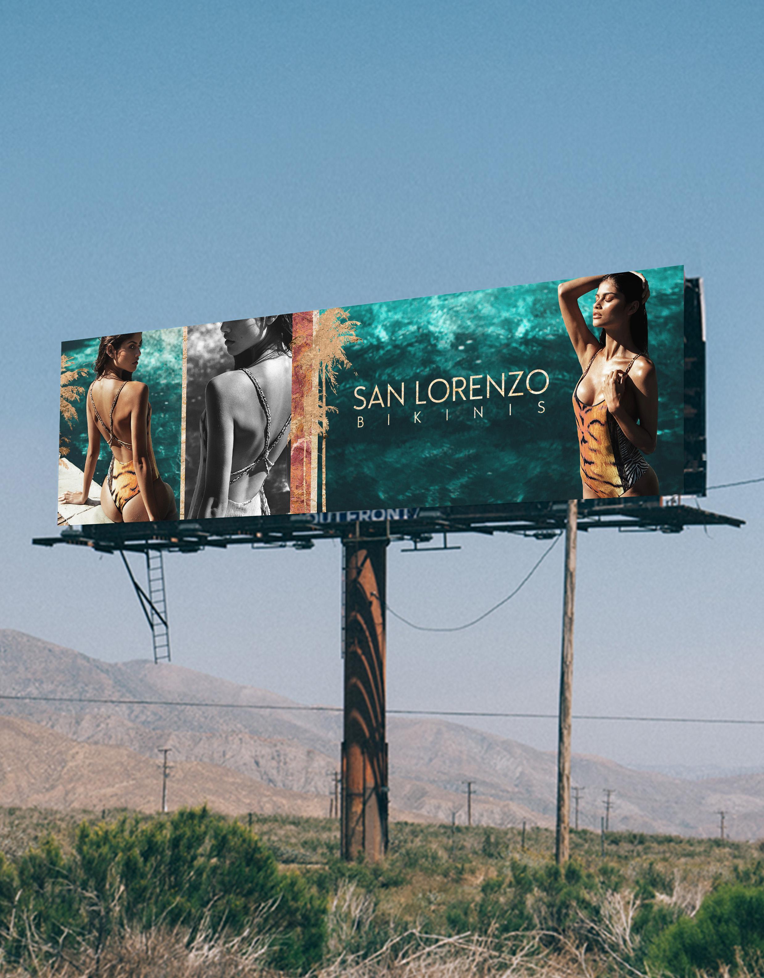 Billboard in California - on the road to Coachella