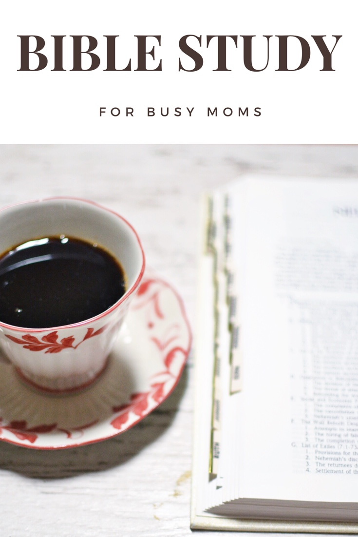 bible study for busy moms