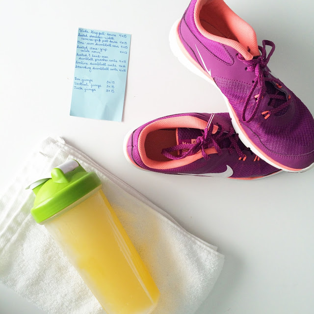 postpartum fitness routine