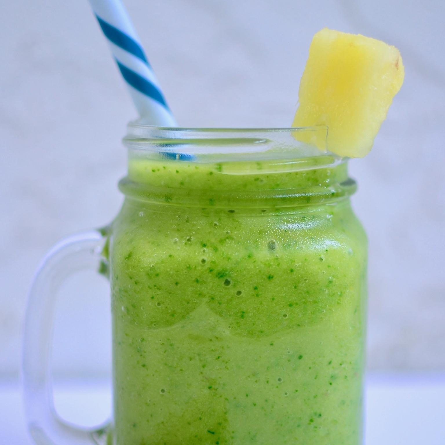 recipe - tropical green smoothie