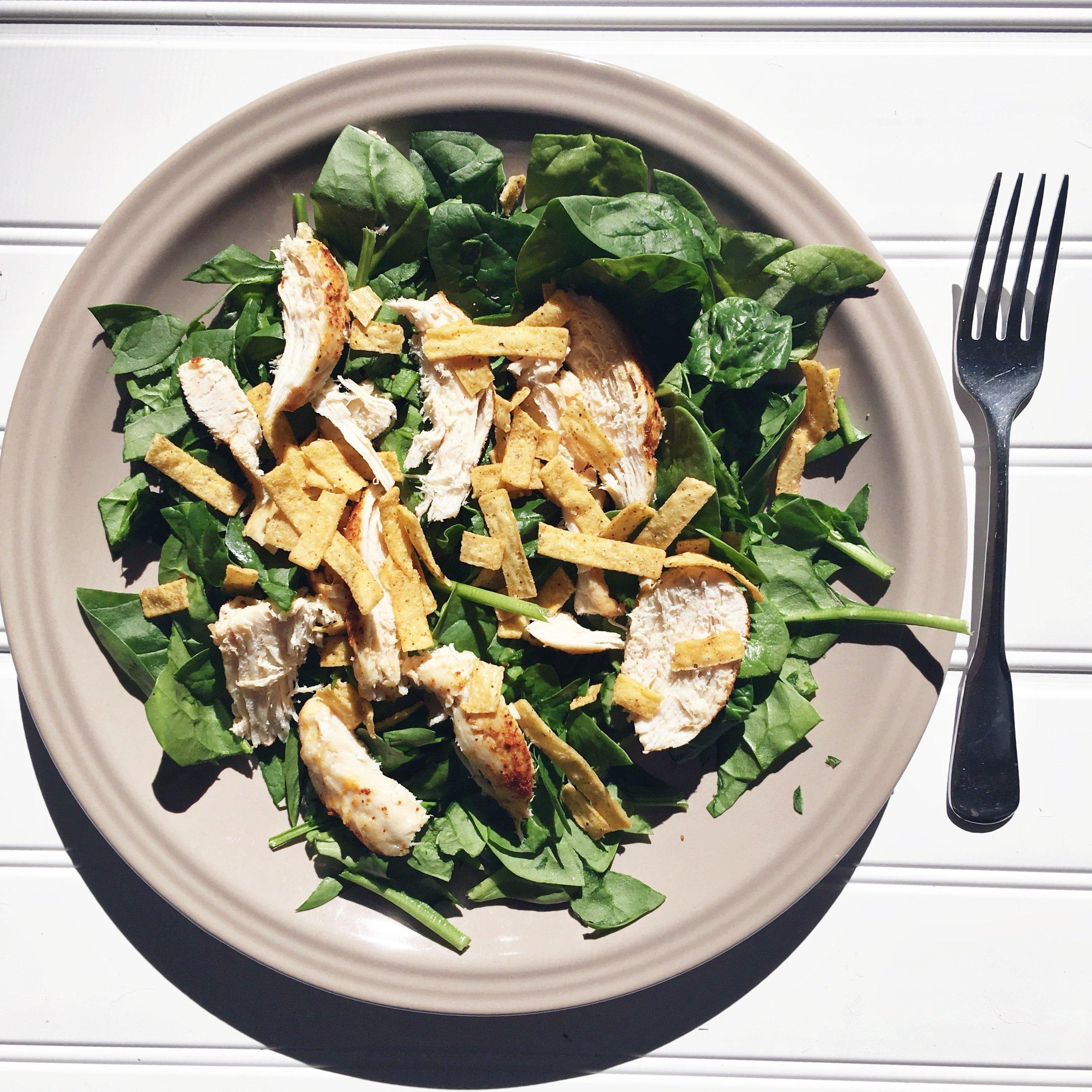 salad grilled chicken