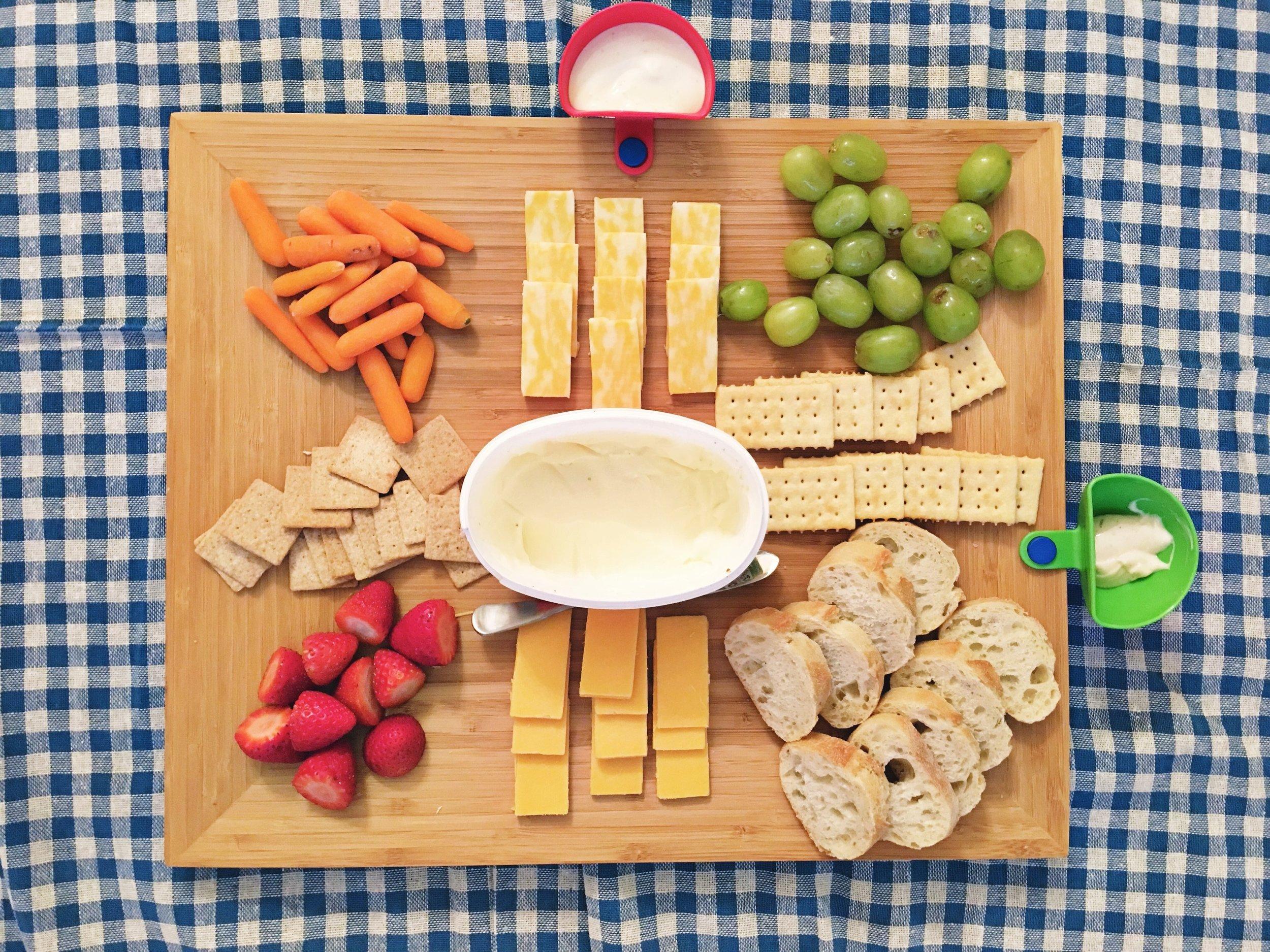 picnic style dinner