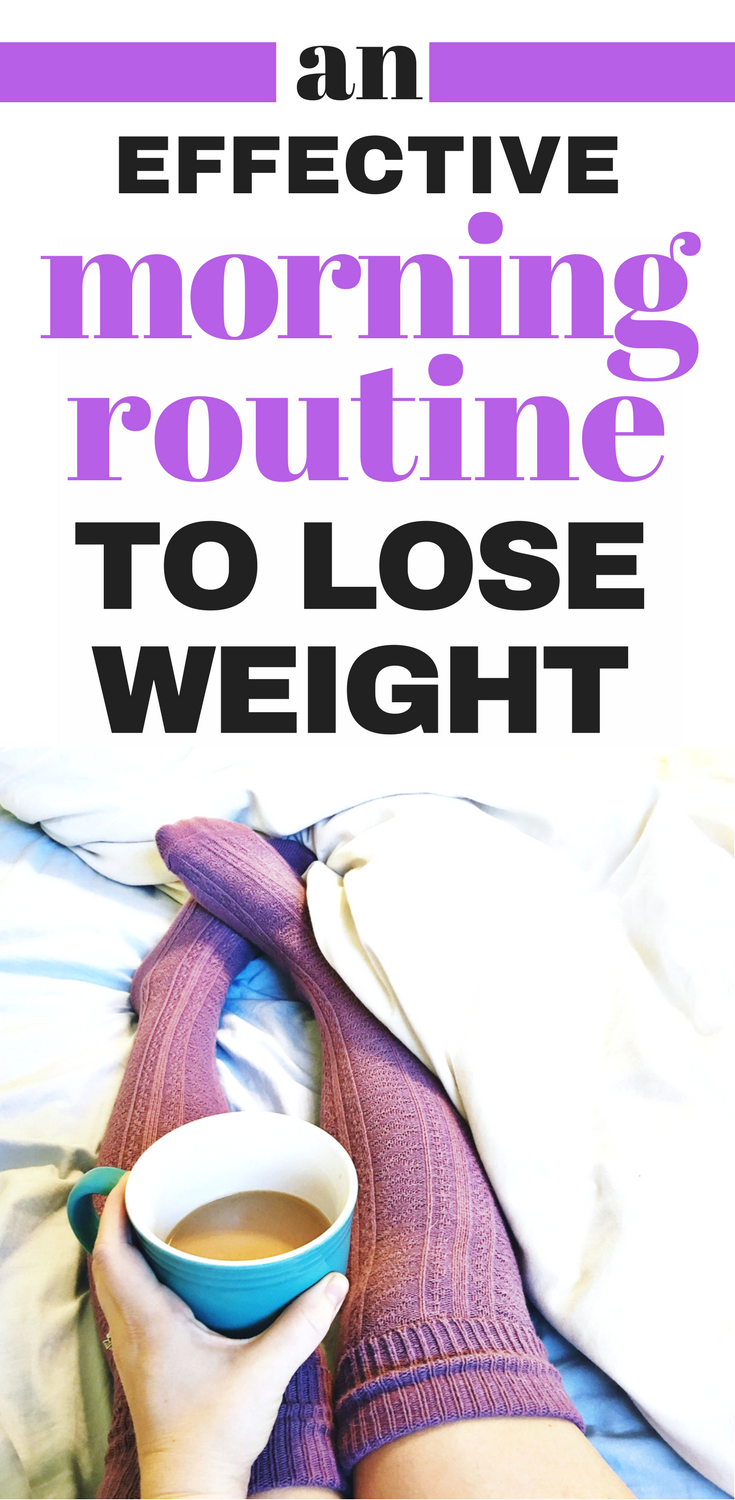 morning routine for weight loss