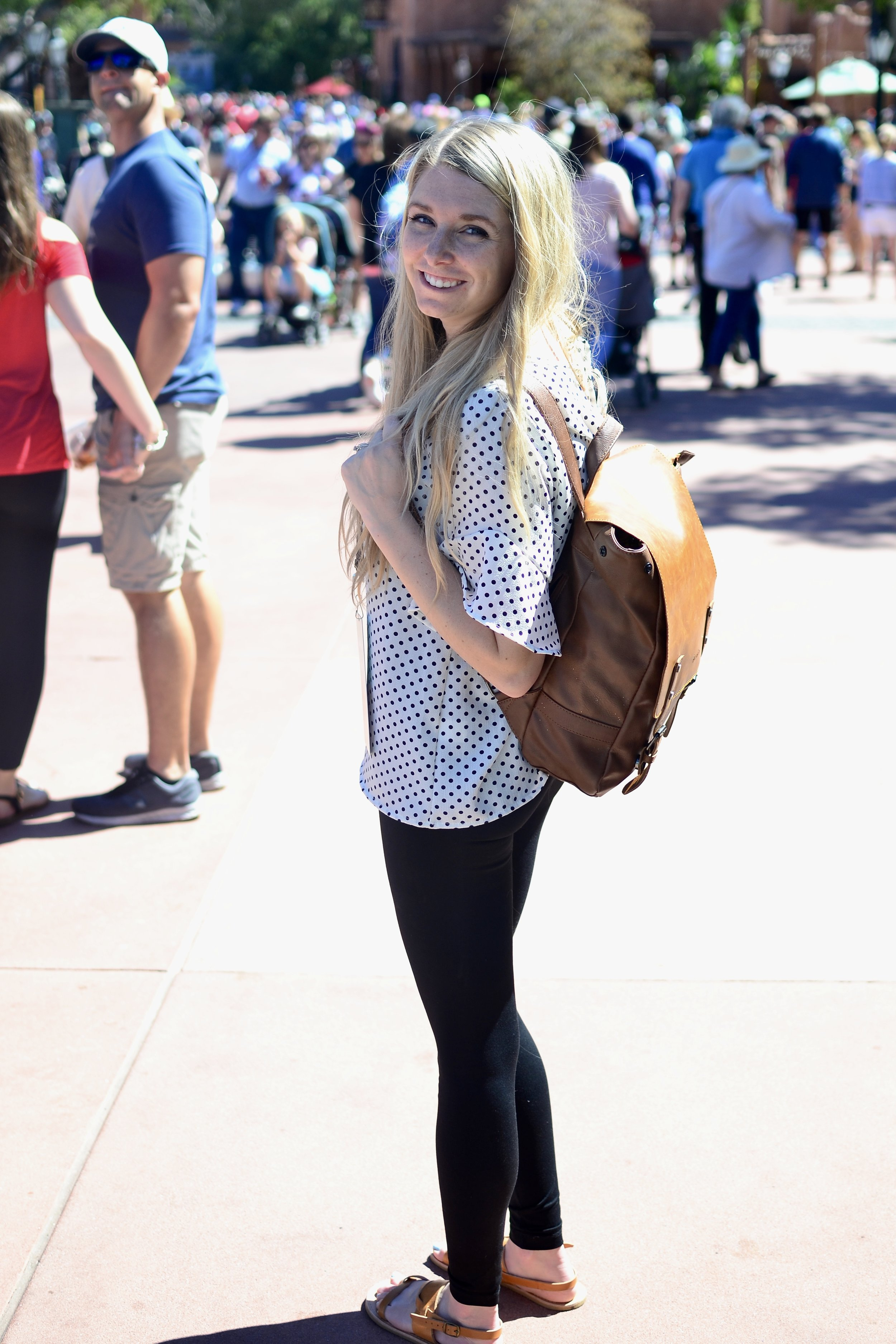 cute travel backpack for moms