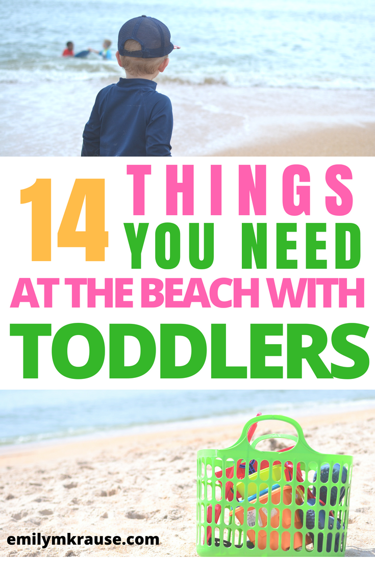 14 things you need at the beach with toddlers.png