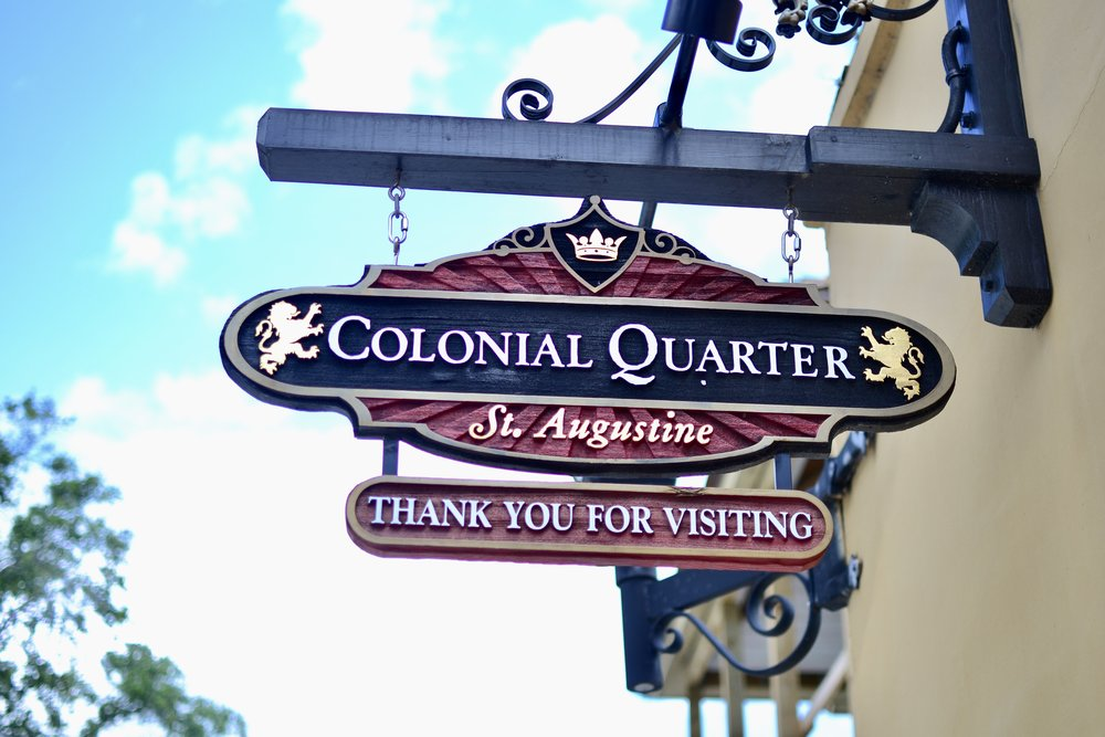 Colonial Quarter in St. Augustine with Kids
