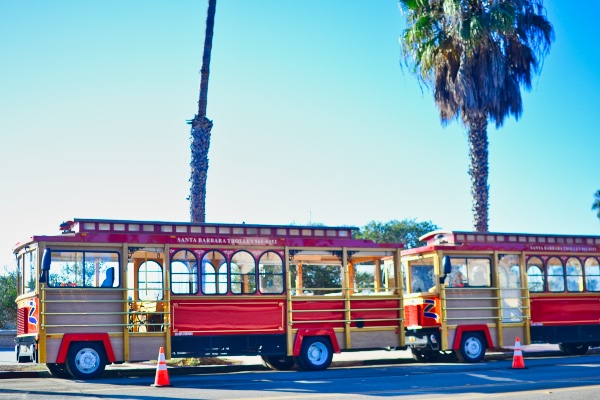 Santa Barbara Trolley Tour - a great activity to do with kids in Santa Barbara