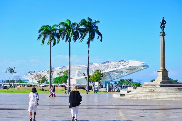 Museum of Tomorrow in Rio de Janeiro Brazil