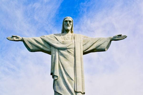 Christ the Redeemer Statue in Rio de Janeiro Brazil