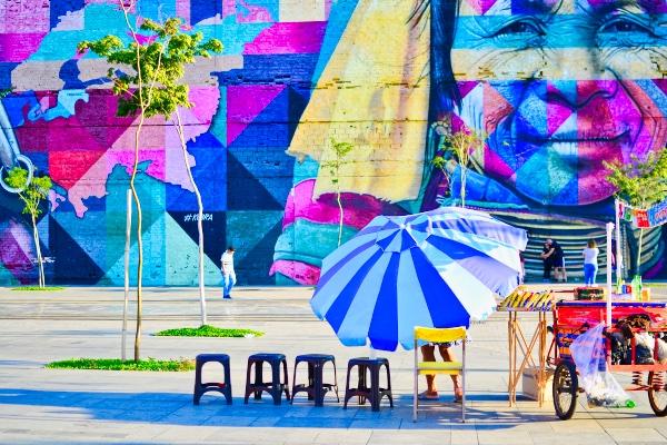 Olympic Boulevard Rio de Janeiro Brazil