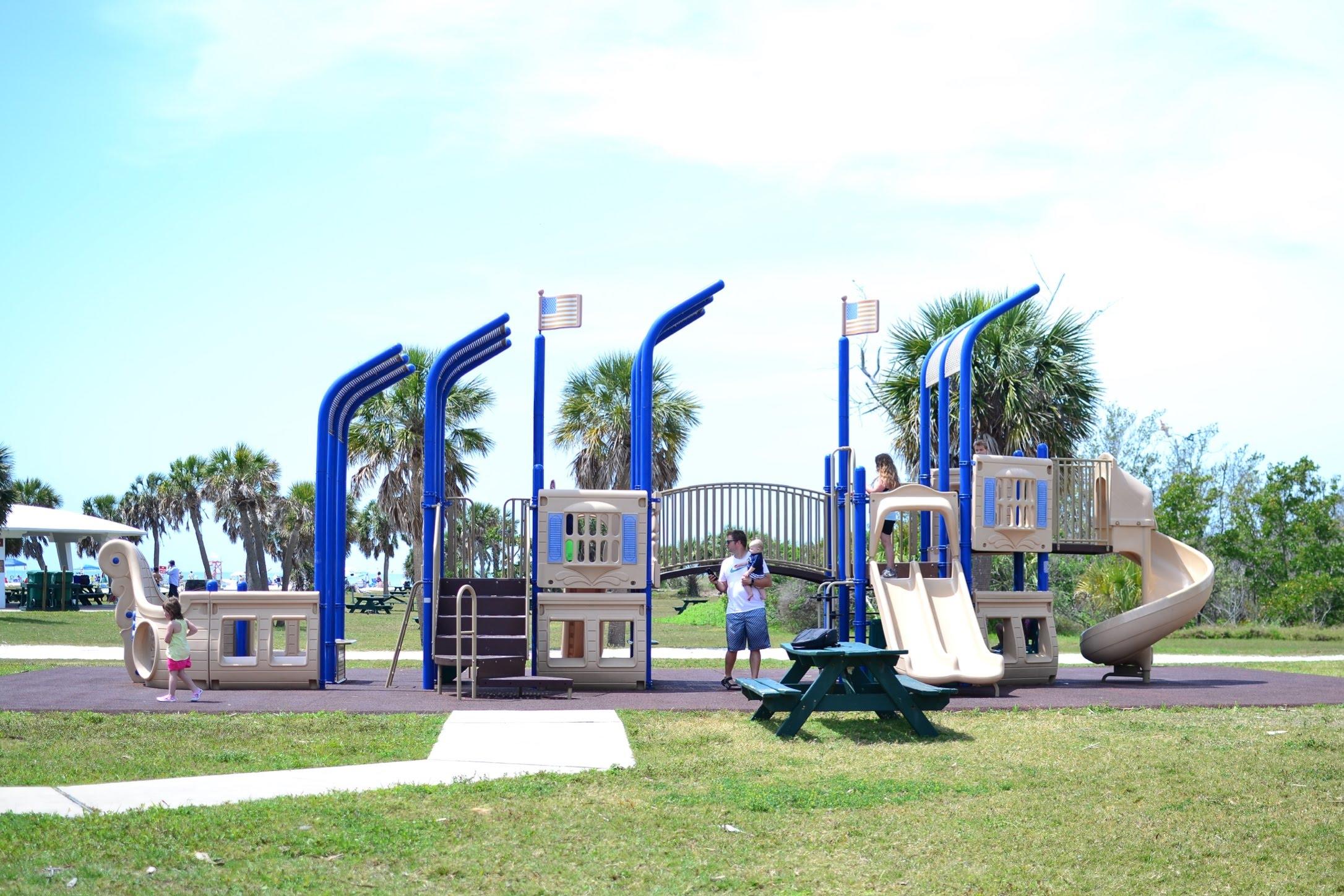 Fort De Soto Park - Pirate Ship Playground