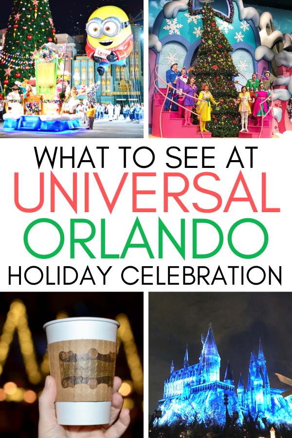 What to do and see at Universal Orlando during Christmas. The holiday celebration at Wizarding World of Harry Potter, Universal, and Islands of Adventure..png