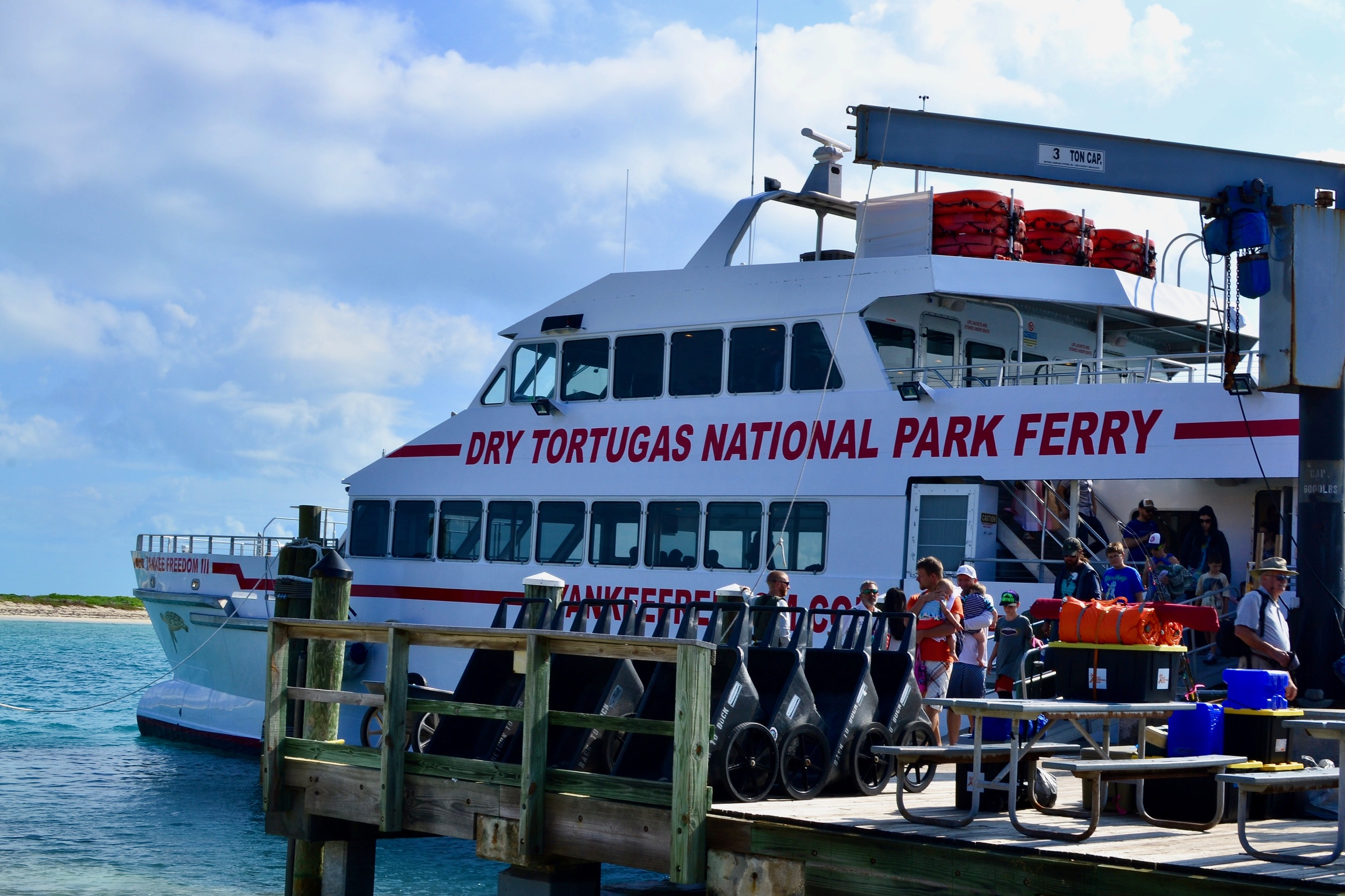 Yankee Freedom III Ferry for the Dry Tortugas