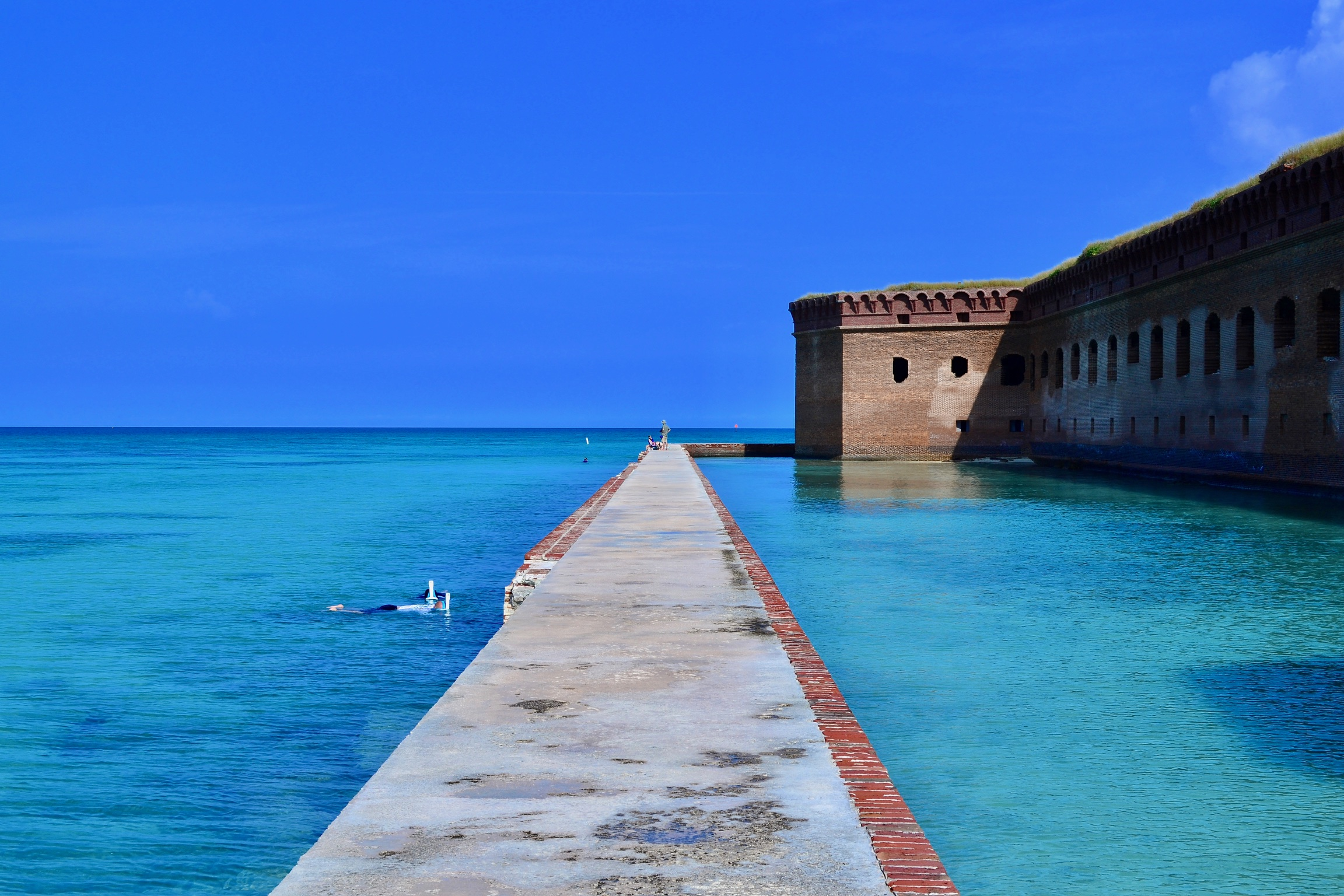 Dry Tortugas National Park Moat Wall