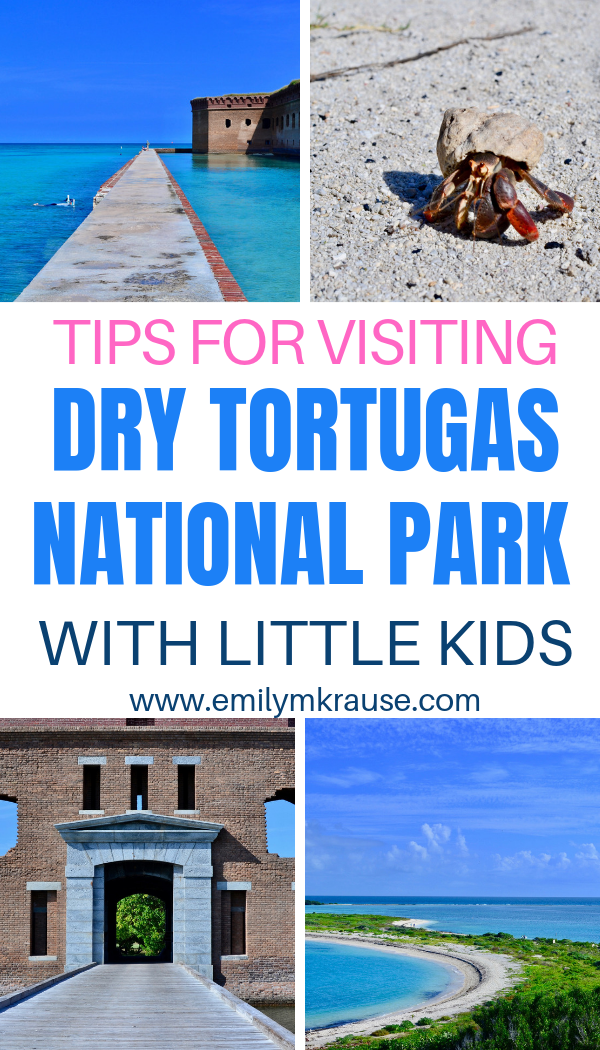 Tips for visiting Dry Tortugas National Park off of Key West with kids..png