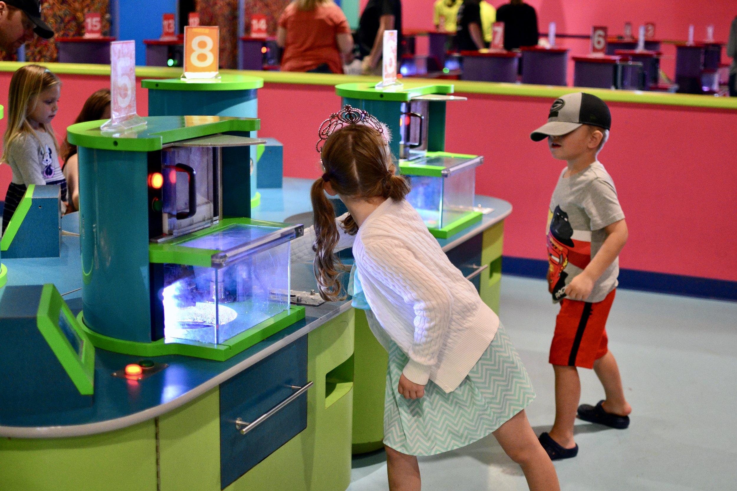 Melt & Mold Station at Crayola Experience Orlando