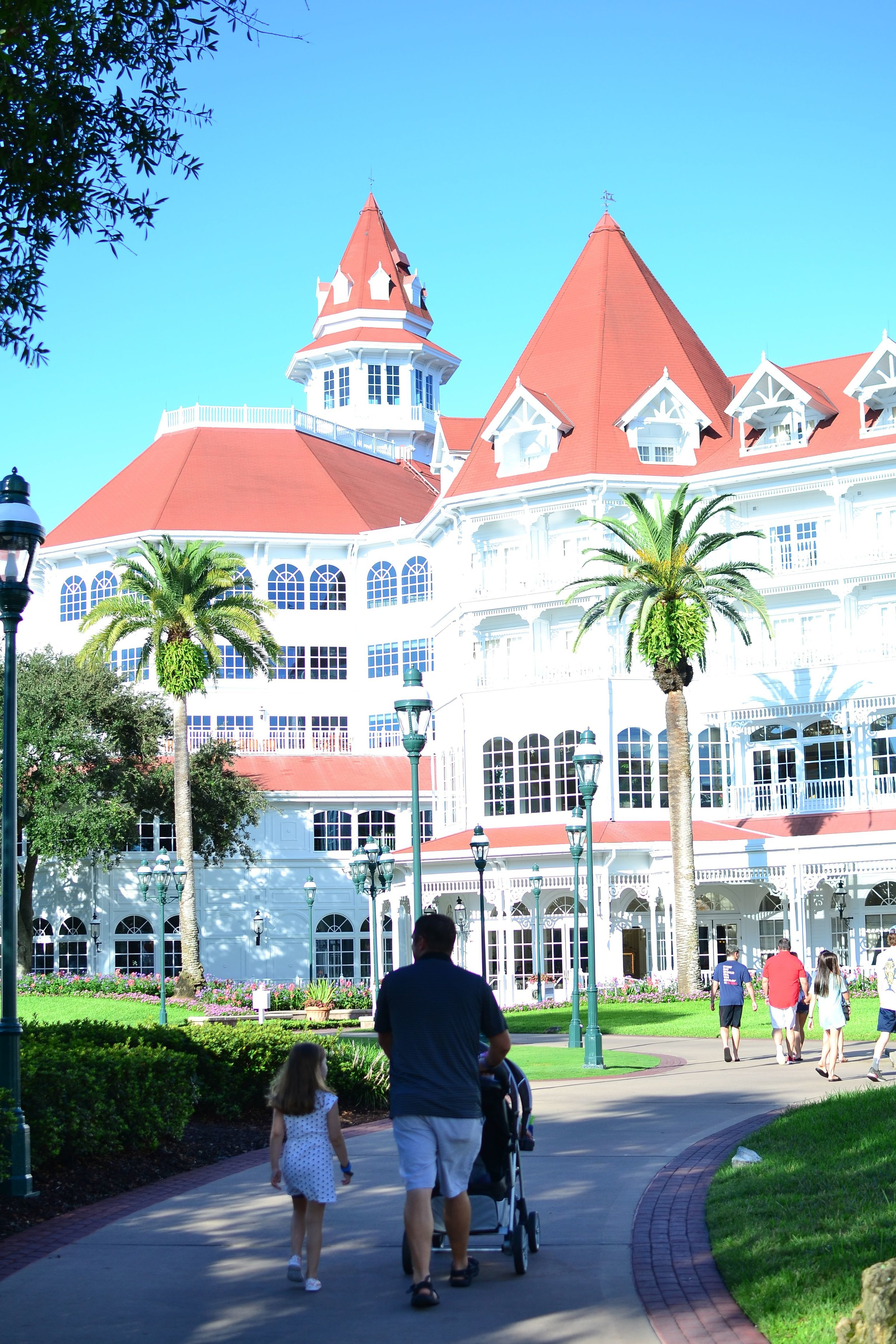 The Grand Floridian at Disney World