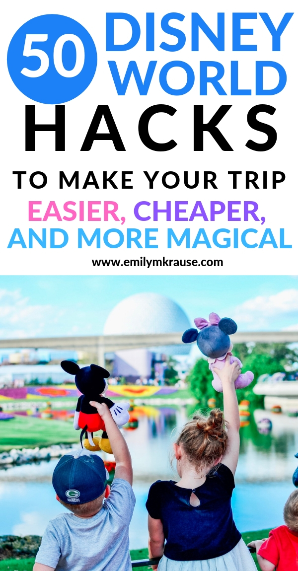 First time Disney World hacks for families. Experience easier, cheaper, more magical Disney with these top tips and money savers. Cut down on Disney World stress and have the most magical time at the Disney Parks. .jpg
