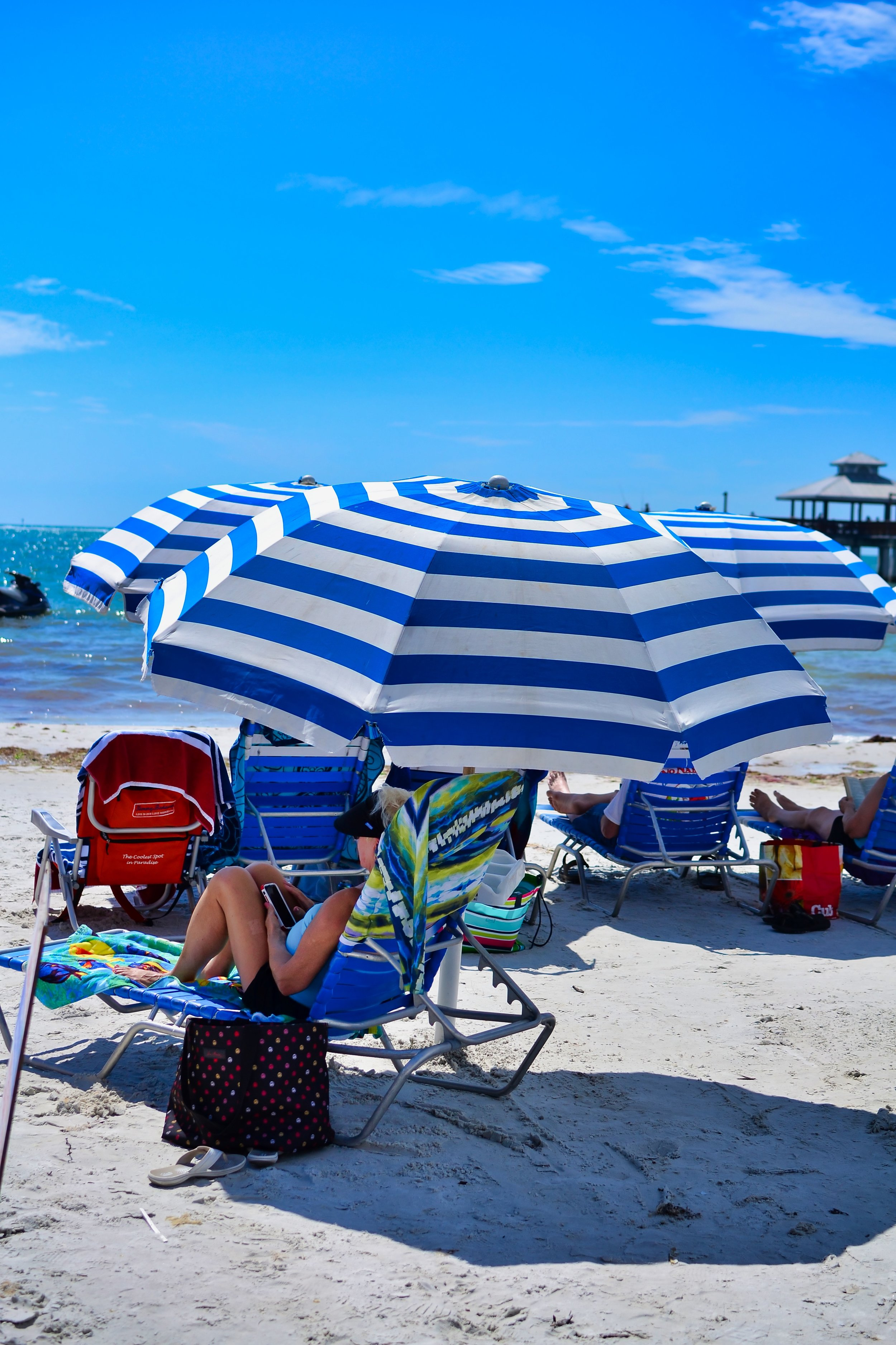 Fort Myers Beach Umbrella.jpeg