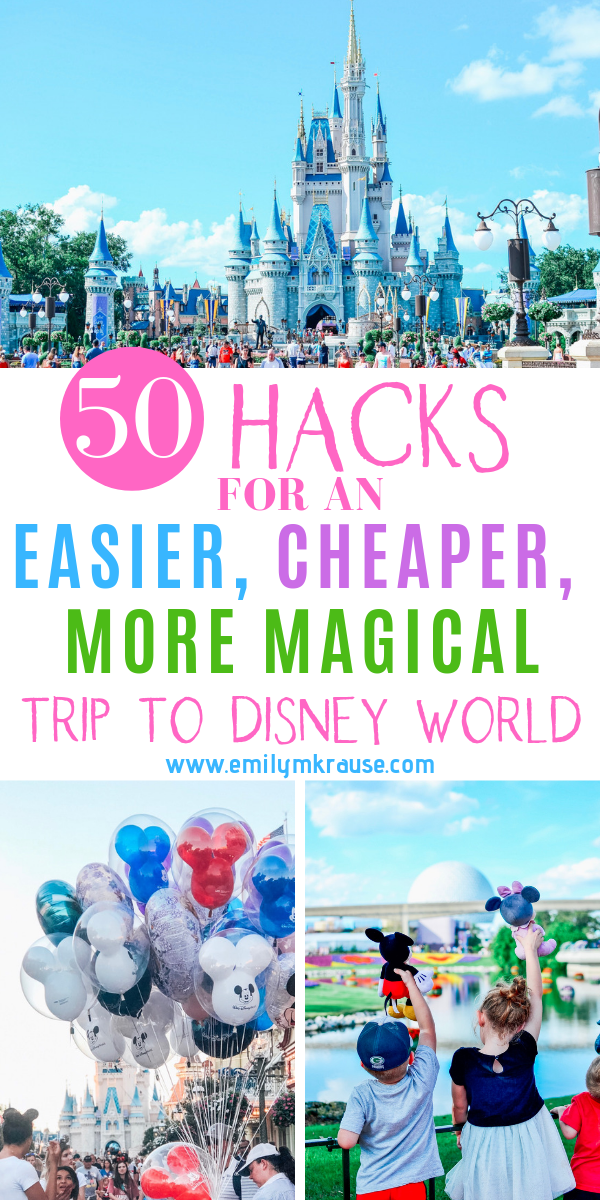 So you're going on a DIsney Vacation and you want to experience an easier, cheaper, more magical Disney World. Never fear! I've got first time Disney World hacks and ways to cut down on Disney World stress so you can.png