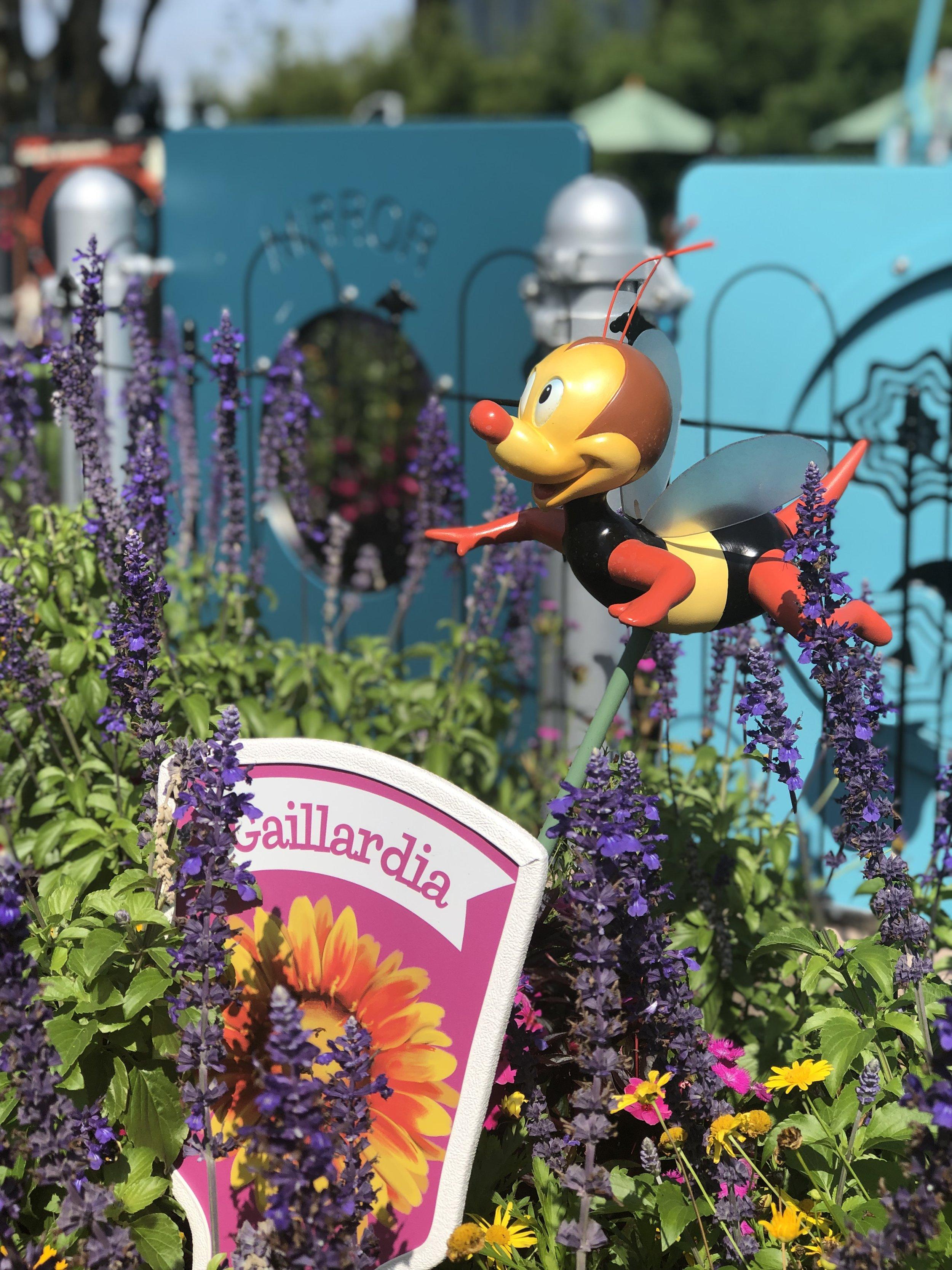 Spike's Pollen Nation Scavenger Hunt Epcot