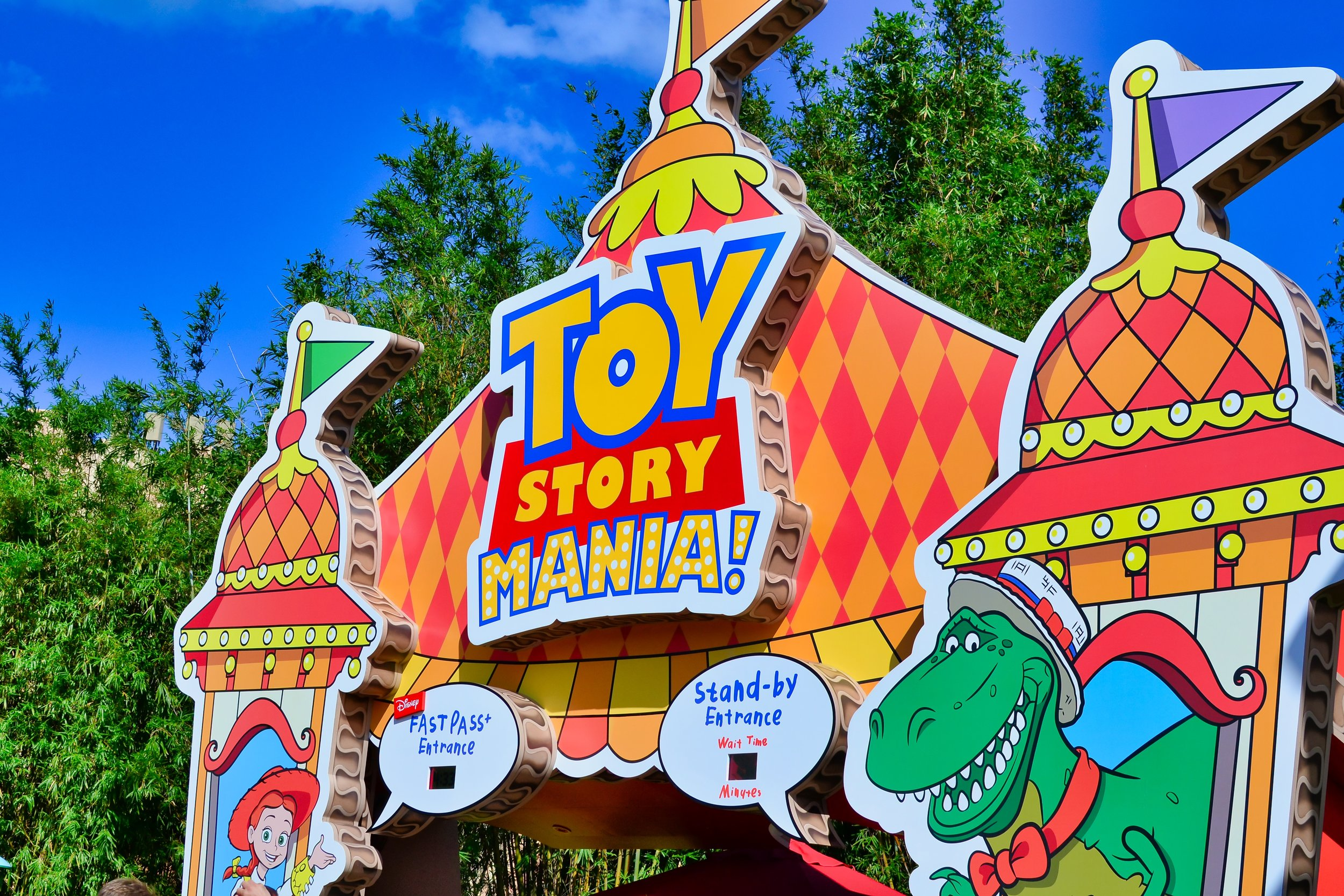 Toy Story Mania at Hollywood Studios