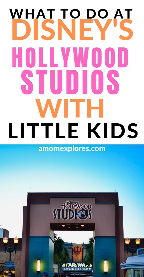 What to do at Disney's Hollywood Studios with Little Kids. If you're visiting this Disney Park with babies, toddlers, or preschoolers, here are the top rides, shows, and attractions to enjoy! .jpg