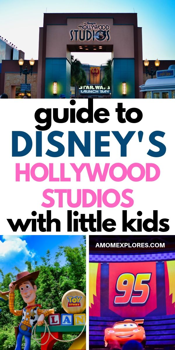 Tips for visiting Disney's Hollywood Studios with Little Kids. If you're visiting this Disney Park with babies, toddlers, or preschoolers, here are the top rides, shows, and attractions to enjoy! .jpg