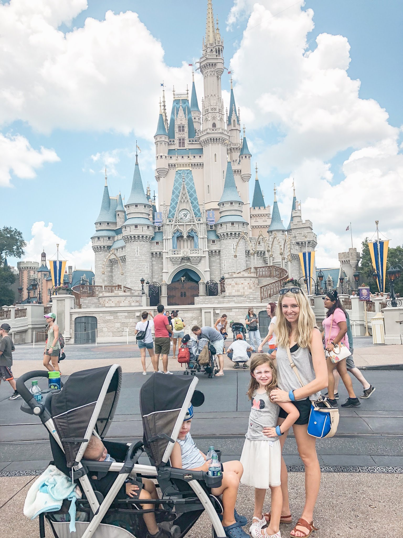 bringing a stroller to Disney