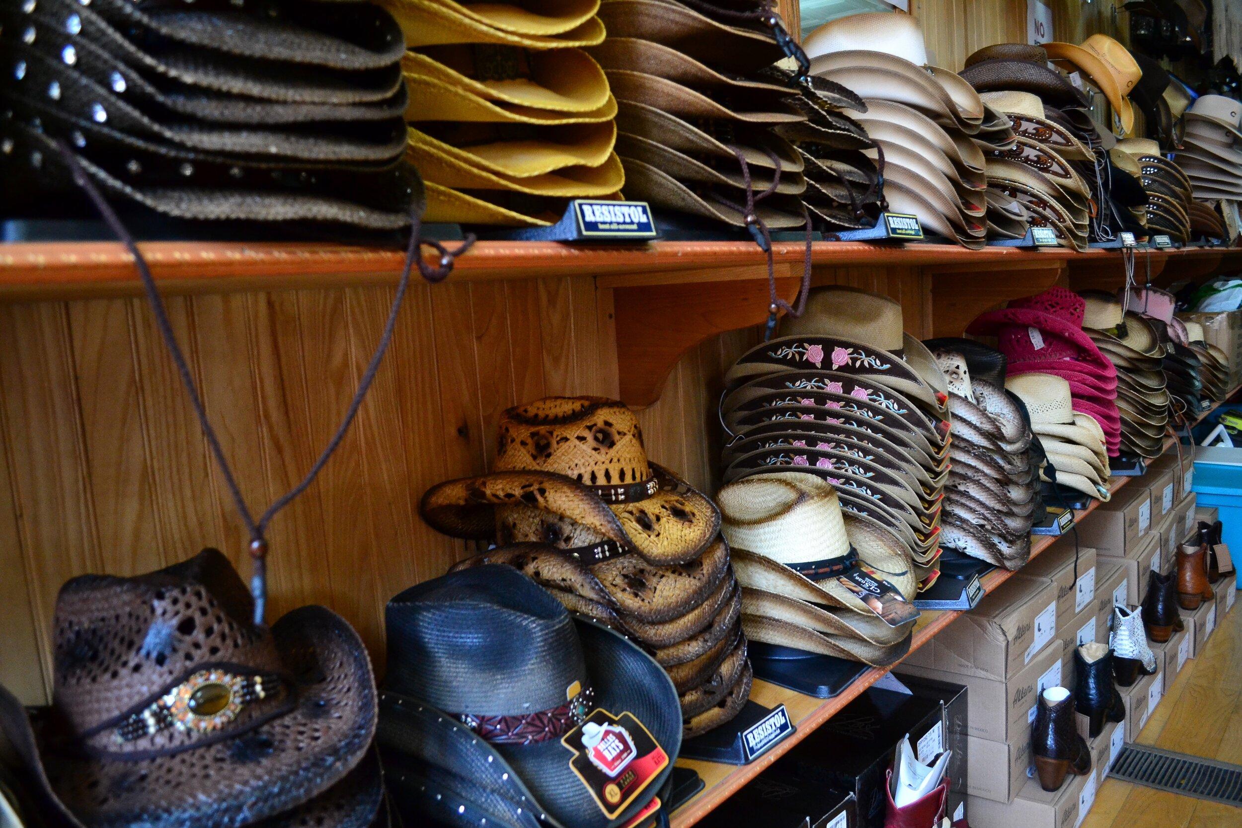cowboy hat shopping in Nashville.jpeg