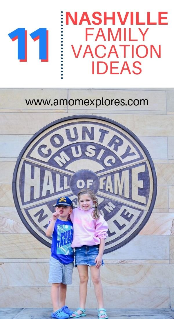 Family activities in Nashville! If you're planning your next family trip to Music City, here's what to do in Nashville with young children. Where to stay, what to do, best honky tonks for kids in Nashville. .jpg
