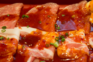 beef marinated